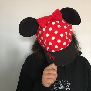 Youth Minnie Mouse hat